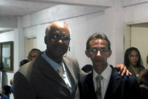 Rev. Fabiano Ferreira e Obreiro Daniel Alves Pena